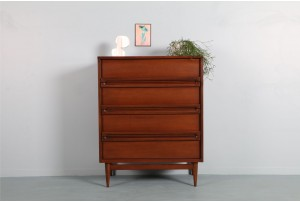Bassett Furniture Sculptural Tallboy