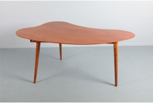 Mary Pattle Organic Mahogany Table / Desk for Jon Jansen
