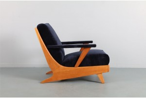 Early NZ Rocket Style Armchair