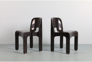 Joe Colombo Model 4867 'Universale' Stacking Chairs for Kartell