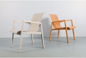 Rare Early Edition Alvar Aalto 'Model 403' Chairs for Finmar