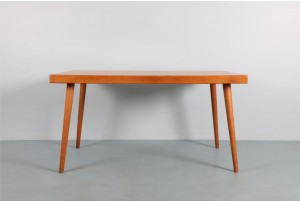NZ Made Oak Dining Table by Jorgen Johanssen