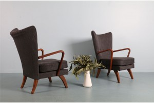 Pair of Howard Keith 'Bambino' Chairs for Jon Jansen