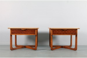 Pair of Lane 'Perception' Bedside Tables