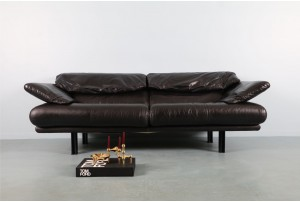 Paolo Piva 'Alanda' Leather Sofas for B&B Italia