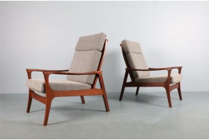 Pair of High-Back DON 'Concord' Armchairs