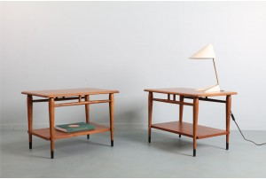 Pair of Lane 'Acclaim' Side Tables