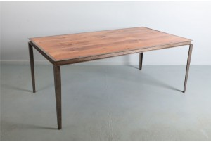 Michael Draper Table with Reclaimed Kauri Top