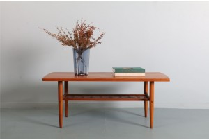 Swedish Teak Coffee Table by Alberts Tibro