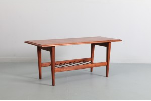 Jon Jansen Solid Mahogany Coffee Table