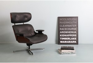 Plycraft Eames Style Reclining Armchair
