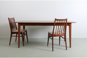 Stunning Solid Mahogany Dining Table by Jon Jansen