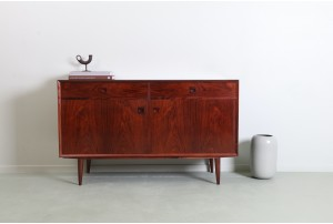 Compact Brouer Danish Rosewood Sideboard