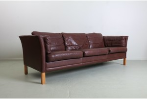 Mogens Hansen 'MH2225' Danish Leather Sofa