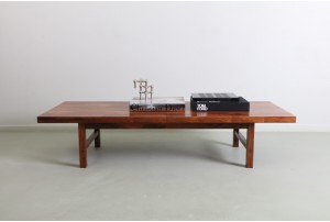 Deluxe Henry Klein Rosewood Parquetry Coffee Table for Bramin