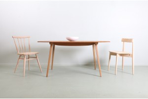 Iconic Lucian Ercolani 'Plank' Dining Table by Ercol