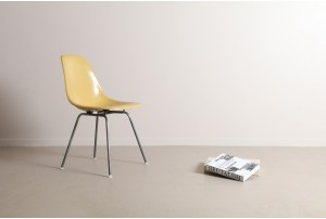 Authentic Charles & Ray Eames 'DSX' Chair by Herman Miller