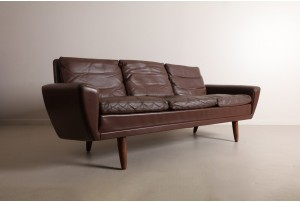 Memorable Georg Thams 'Model 64' Sofa by Vejen Polstermøbelfabrik