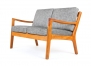 Ole Wanscher Two Seater 'Senator' Sofa